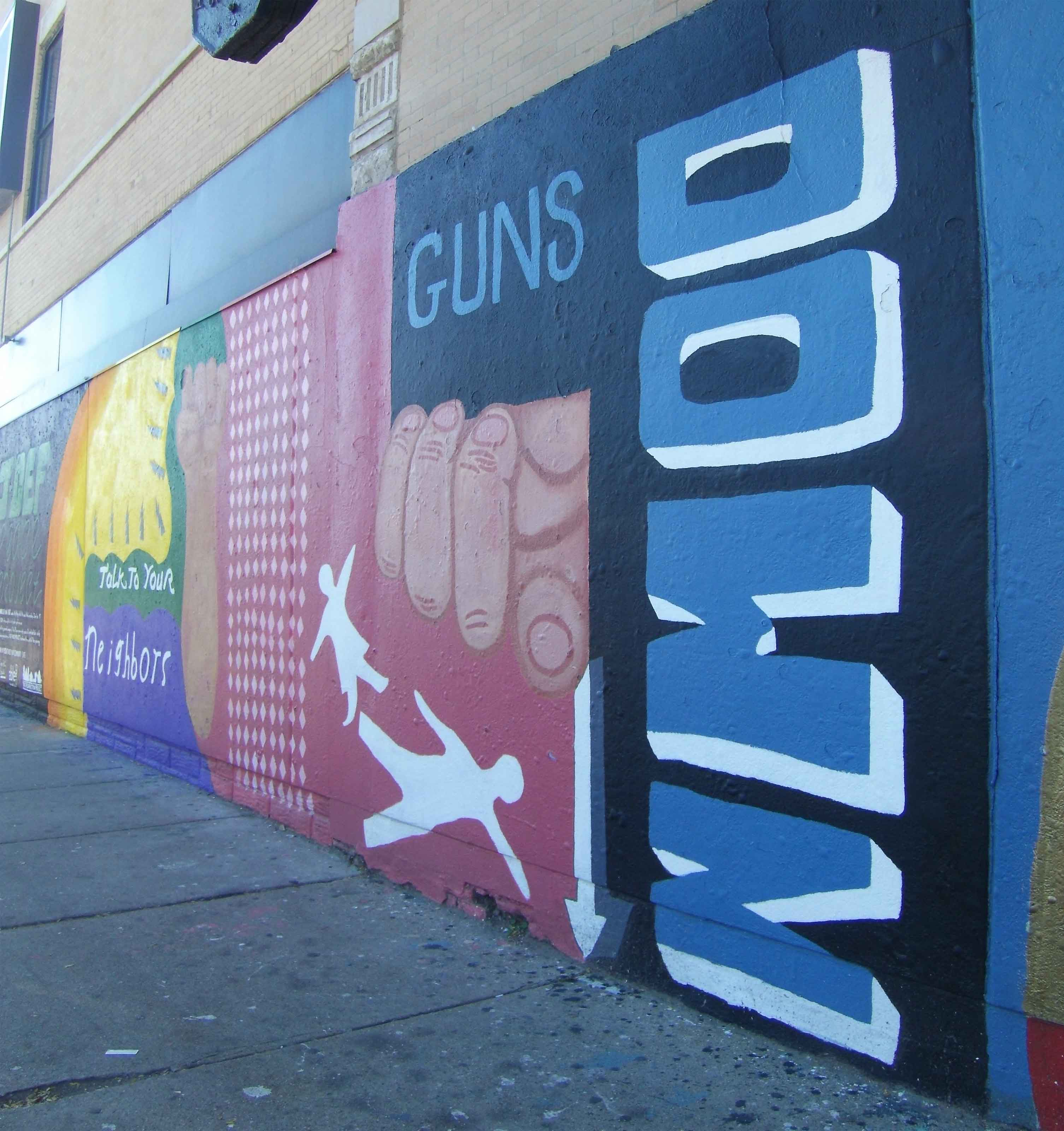 Anti-Violence Murals in Pilsen Chicago