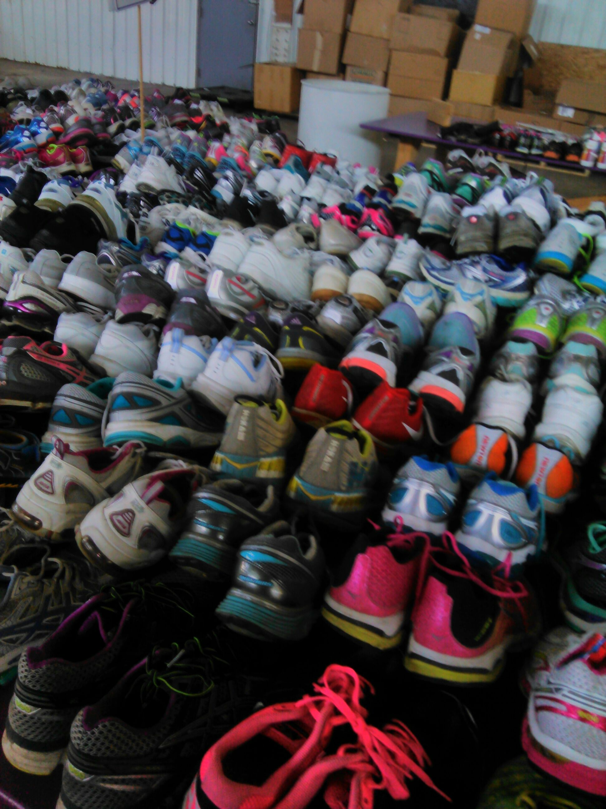 volunteering at share your soles